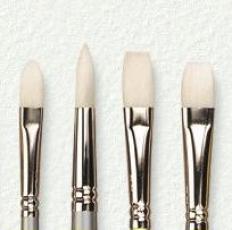 Laurence Mathews Pro Arte Acrylix Brush Series 201 Sizes: 0-2-4-6-8-10-12