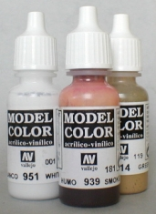 Laurence Mathews Vallejo Acrylics Ideal for modelling